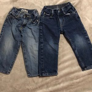2 Pair 2T lot of jeans